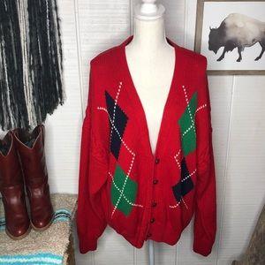 Vintage GAP chunky knit Christmas sweater